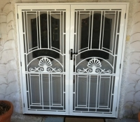 Decorative French Entry Doors SP14AB