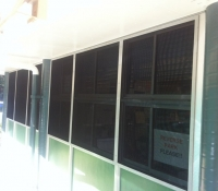 School Vandal Protection against Glass breakage